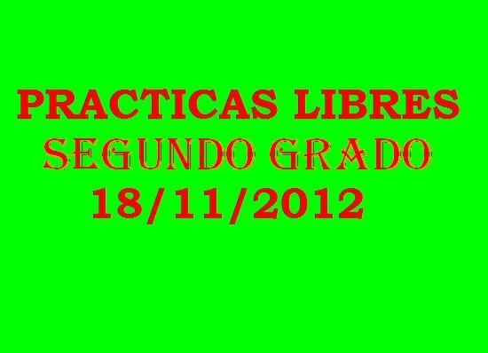 2er grado 18 noviembre-Practicas Libres-cnivel