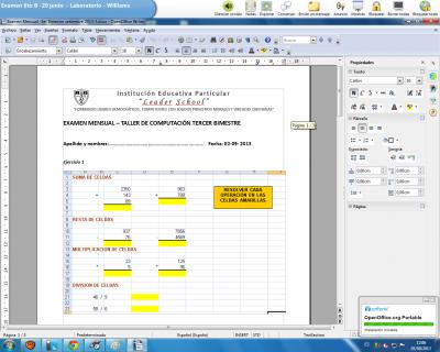 Examen Mensual -3er Bimestre setiembre 2013-5