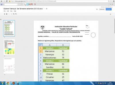 Examen Mensual -3er Bimestre setiembre 2013-6