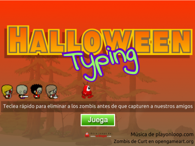 Halloween-Typing